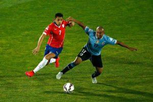 12. Chile vs. Uruguay en Santiago / Jornada 11 / marzo de 2017 Foto:Getty Images
