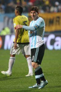 13. Argentina vs. Colombia en sede por definir / Jornada 12 / marzo de 2017 Foto:Getty Images