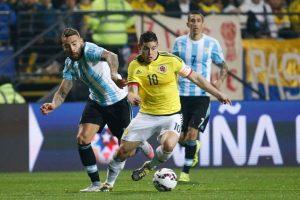 5. Colombia vs. Argentina en Barranquilla / Jornada 4 / noviembre de 2015 Foto:Getty Images