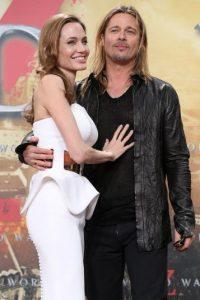 """El 23 de agosto de 2014, en una ceremonia totalmente privada en el sur de Francia, Angelina Jolie y Brad Pitt se dieron el """"sí acepto"""". Foto:Getty Images"""