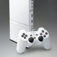 PlayStation 2 Slim blanco. Foto: Sony