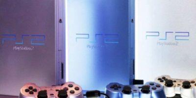 Modelos del PlayStation 2 Slim. Foto:Sony