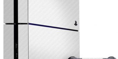 PlayStation 4 blanca. Foto:Sony