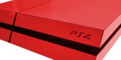 PlayStation 4 roja. Foto:Sony
