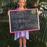 Hace unas semanas inició su primer año de escuela. Foto:vía instagram.com/miatalerico101