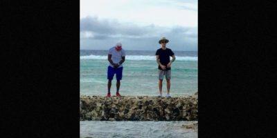 Ambos han compartido en sus cuentas de Instagram fotografías y vídeos de su estancia en la Polinesia Francesa. Foto:Instagram/floydmayweather