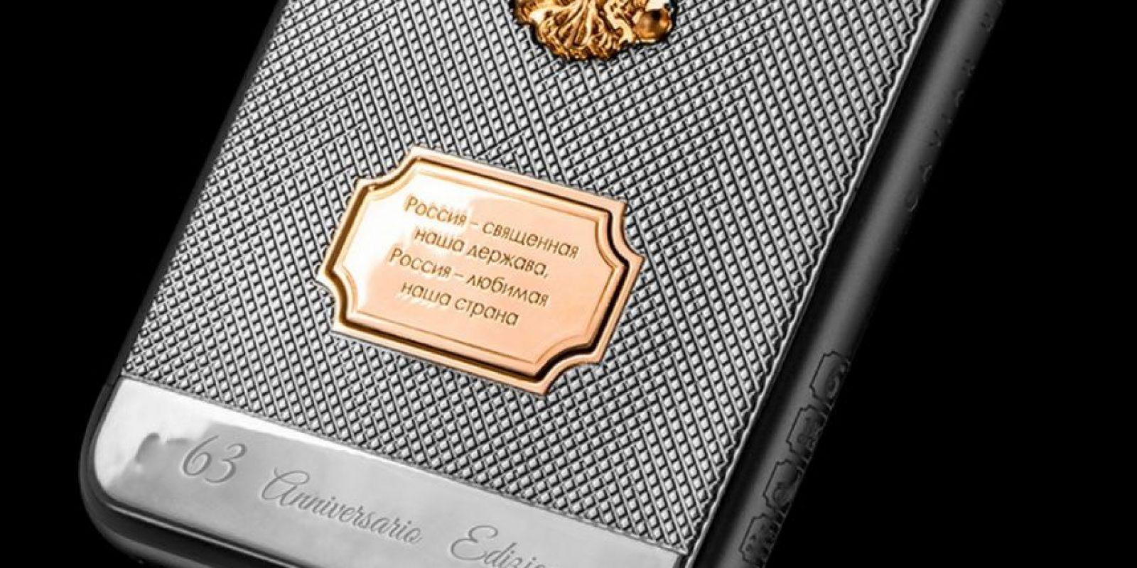 Solamente existen 63 piezas. Foto:vía caviar-phone.ru