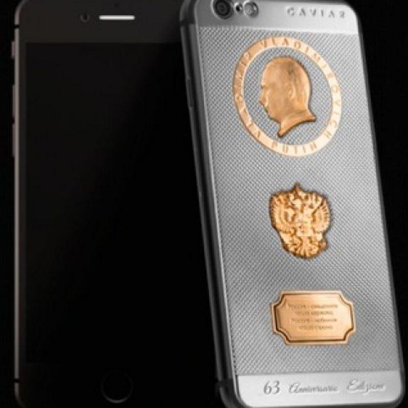 Los vivos están fabricados en oro. Foto:vía caviar-phone.ru