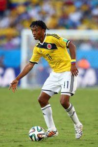 Encabeza la lista del seleccionado colombiano con un precio de 30 millones de euros Foto:Getty Images