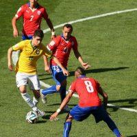 18. Brasil vs. Chile en sede por definir / Jornada 18 / octubre de 2017 Foto:Getty Images