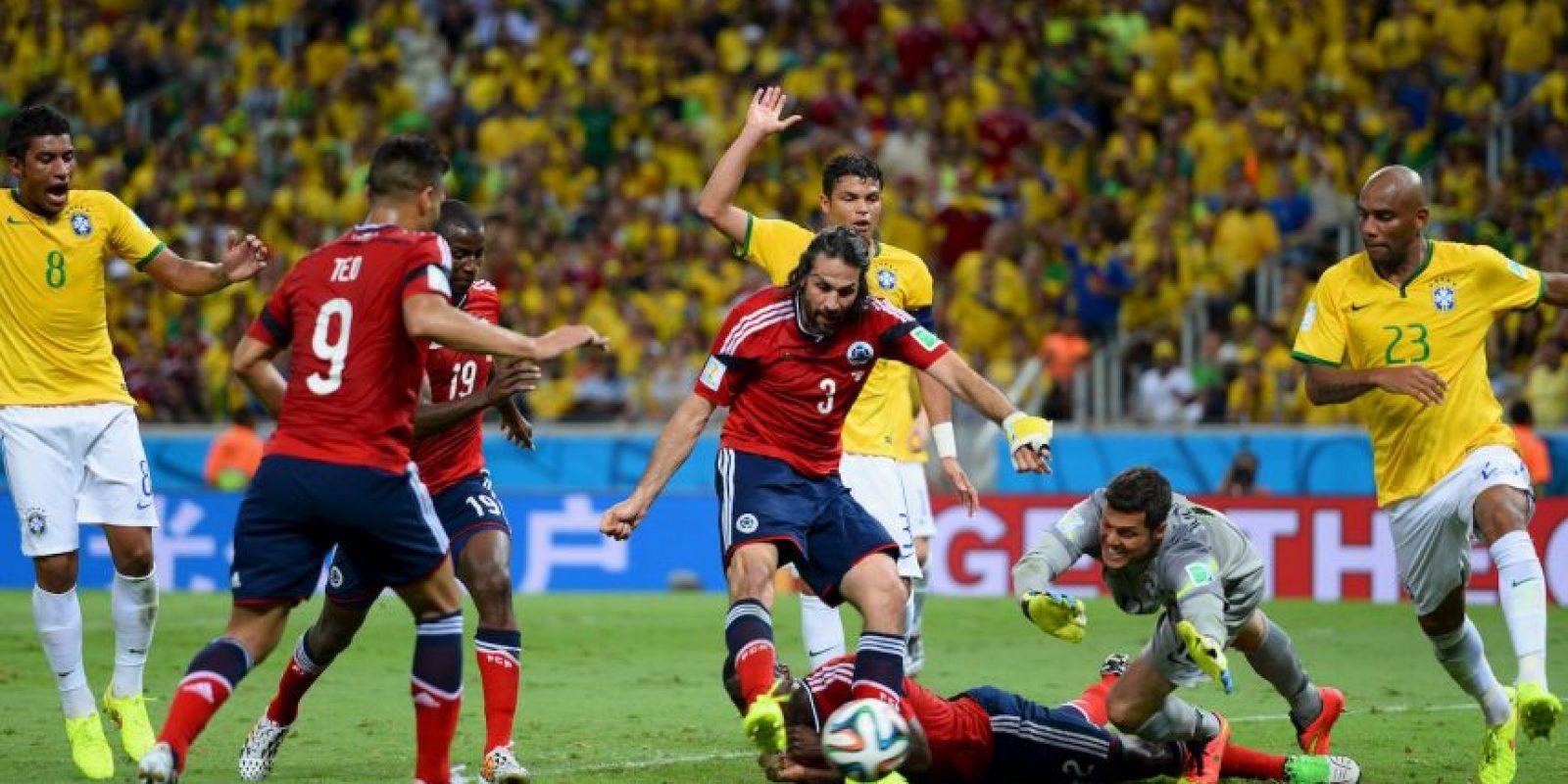 8. Brasil vs. Colombia en sede por definir / Jornada 8 / septiembre de 2016 Foto:Getty Images