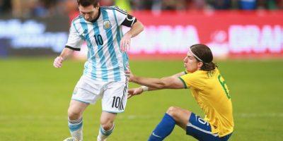 11. Brasil vs. Argentina en sede por definir / Jornada 10 / marzo de 2017 Foto:Getty Images