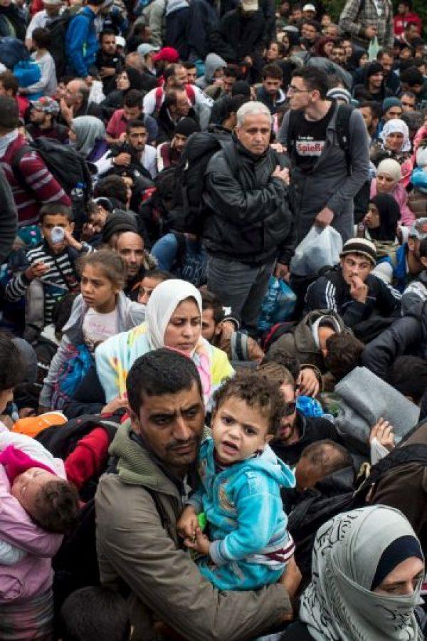 Hasta el 2 de octubre de este año, la Organización Internacional de las Migraciones estima dos mil 887 muertes en el Mar Mediterráneo Foto:Getty Images