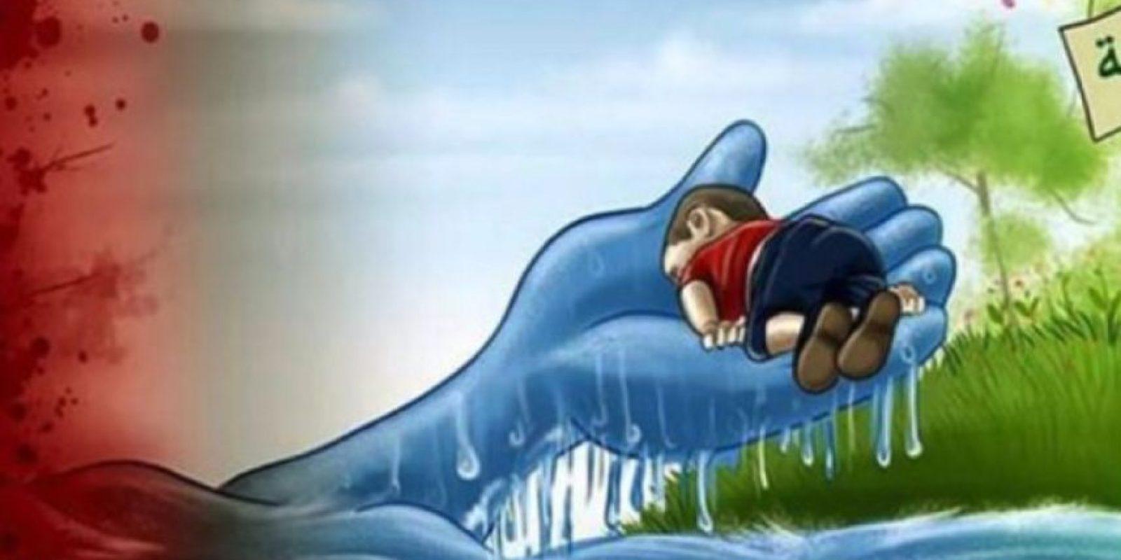 Y se sigue ahogando gente. Foto:vía Twitter