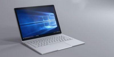 Windows 10 para la Surface Book. Lo bueno es la renovación absoluta del sitema Windows. Lo malo es la escasez de aplicaciones pensadas para ser usadas en pantallas táctiles. Foto:Microsoft