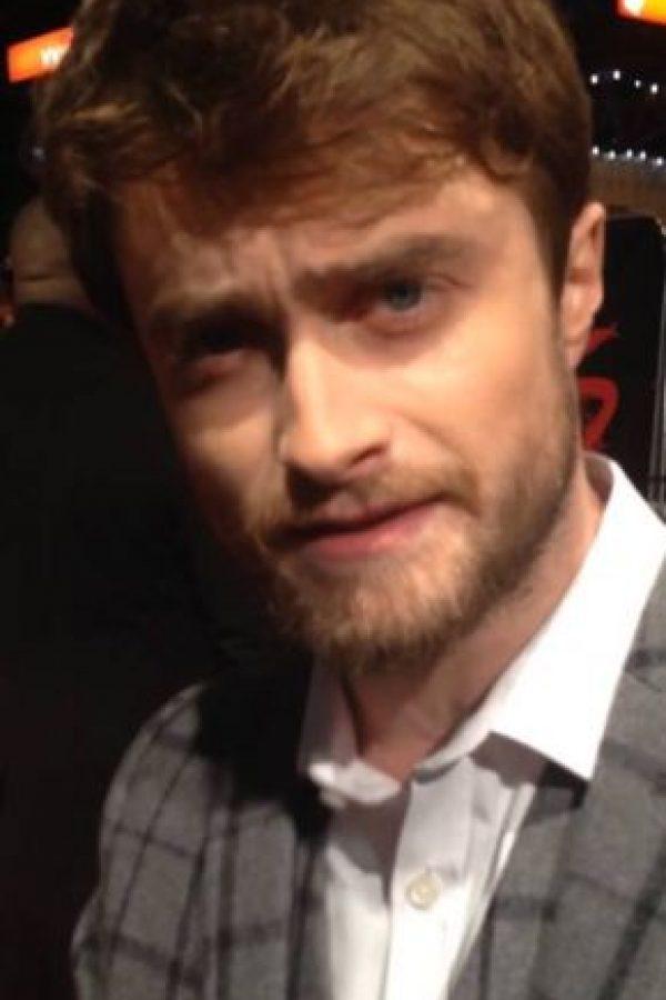 Daniel Radcliffe ahora tiene este aspecto. Foto:vía Getty Images