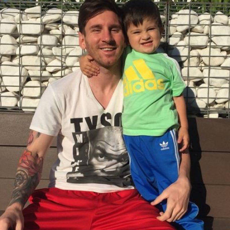 Por lo que ahora, dedica su tiempo a recuperarse y a estar con su familia. Foto:Vía instagram.com/leomessi