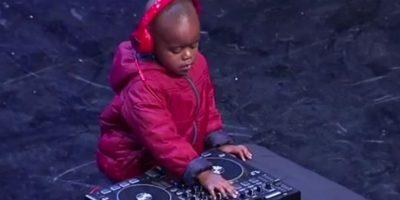 Video: Niño de 3 años impresionó en su audición como DJ