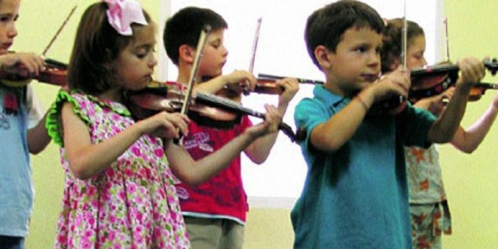Ellos son talentosos a la hora de tocar el violín. Foto:Vïa Imgur