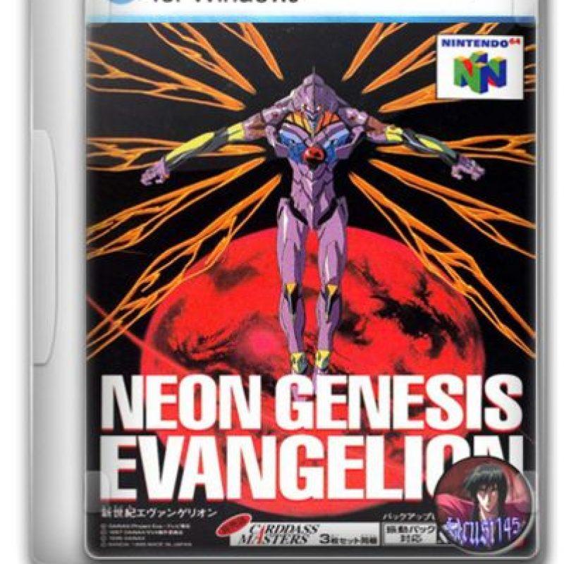 """Para ello utiliza """"mechas"""" –robots humanoides– llamados """"EVA"""" piloteados por niños de 14 años. La saga fue tan popular en Japón y América que se espera un remake y han salido productos de todo tipo Foto:Nintendo/Gainax"""