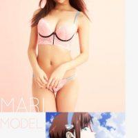 "Modelo ""Mari Illustrious Makinami"" Foto:Peach John"