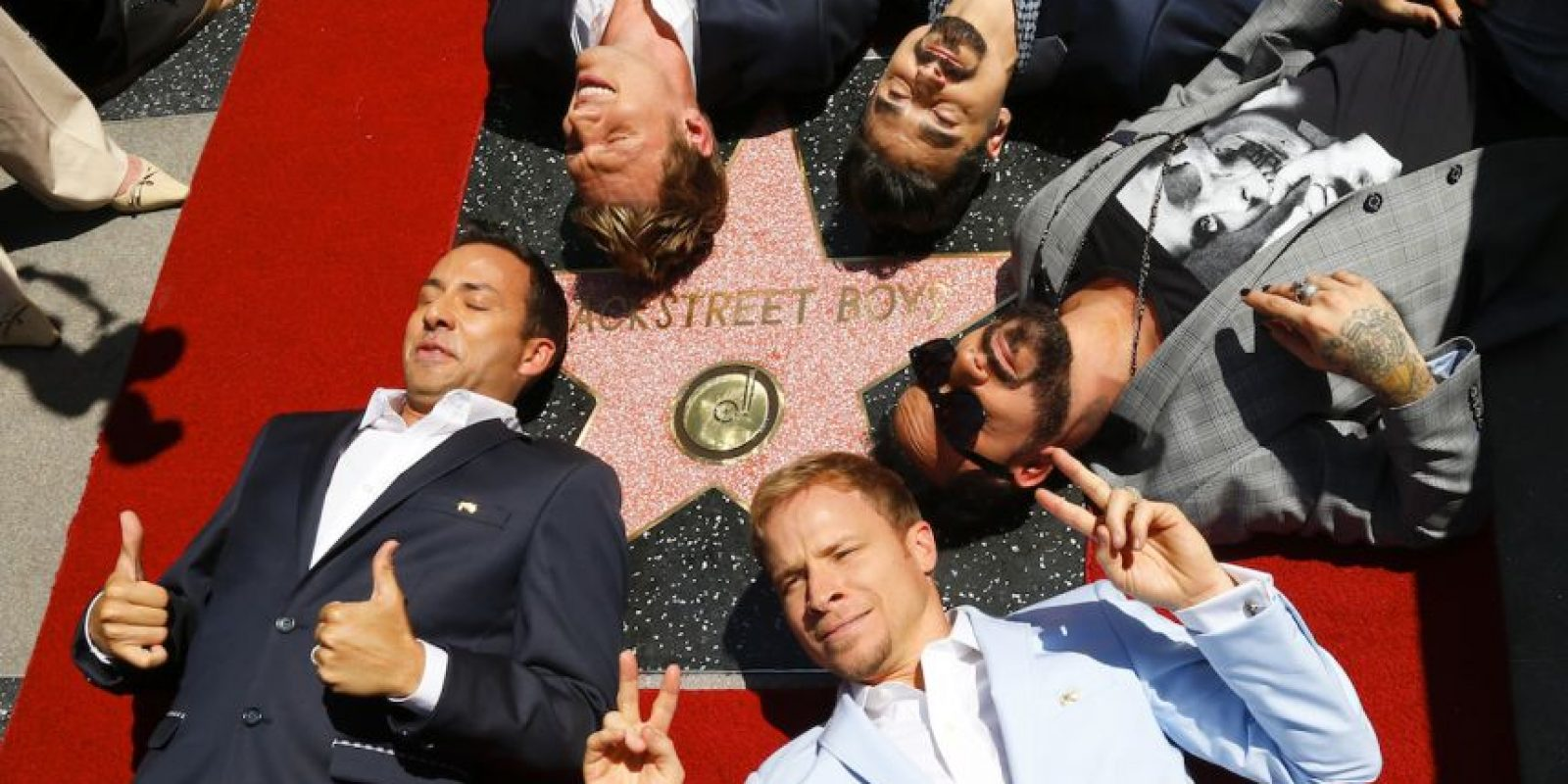 "Backstreet Boys es una ""boy band"" estadounidense Foto: Getty Images"