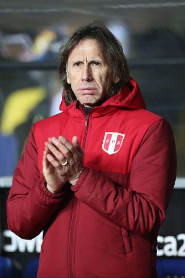 8. Ricardo Gareca (Perú) Foto: Getty Images