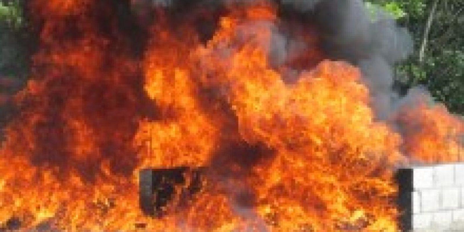 Drogas incineradas Foto:Procuraduría General de la República Domiinicana