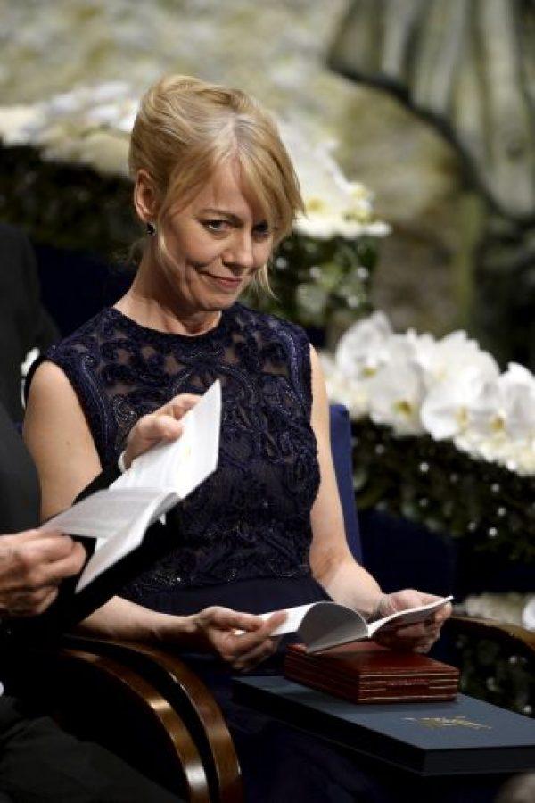 Fue la hija de la escritora quien recibió su galardón Foto:Getty Images