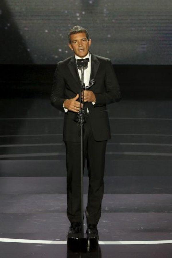 El español Antonio Banderas se casó con la actriz estadounidense Melanie Griffith Foto:Getty Images