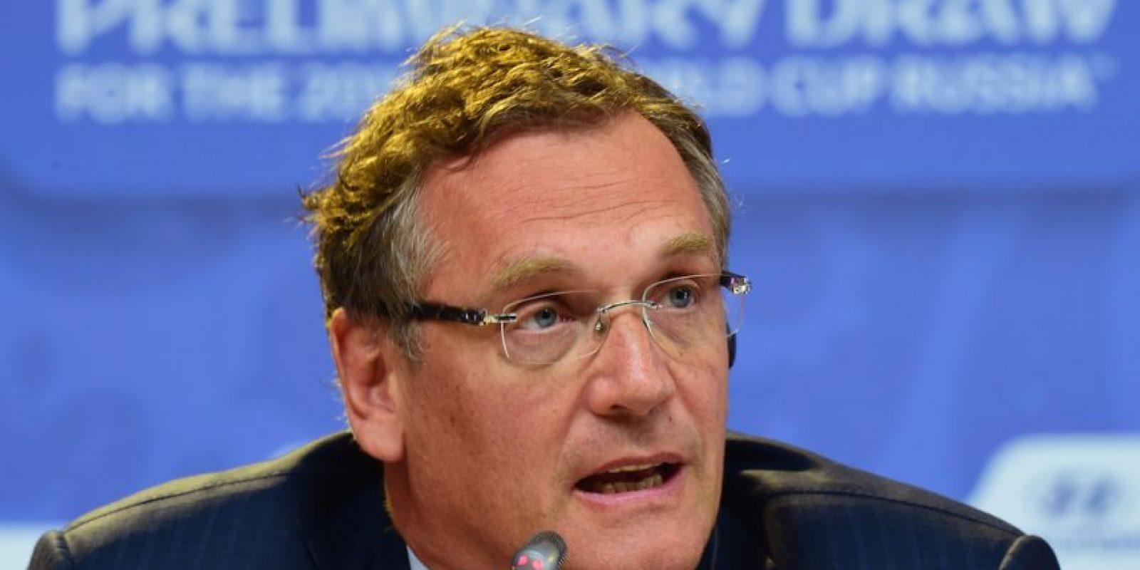 14. Jerome Vlacke / Secretario General de la FIFA. Foto:Getty Images