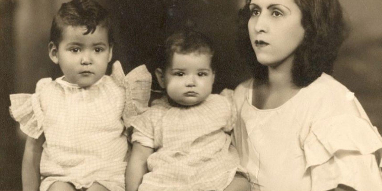 Así era cuando pequeña. Nació en 1933, en Torreón, Coahuila. Foto:vía Facebook/Carmen Salinas Oficial