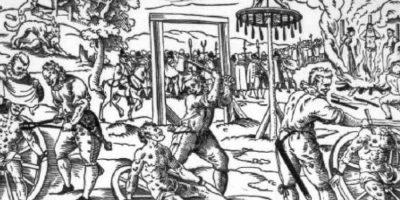 Esta pena capital se usaba en el Imperio Persa. Foto:vía Wikipedia