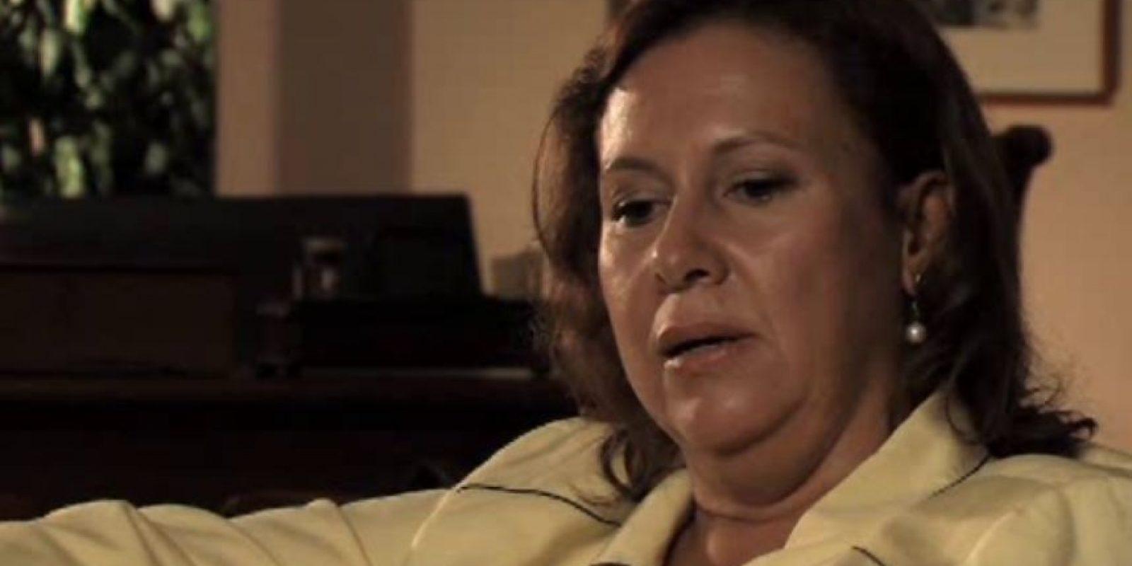 """María Victoria Henao, al contrario que muchas esposas de narcos, no ostentaba. La llamaban """"La Tata"""" y sabía de las infidelidades de su marido. Foto:vía Youtube"""