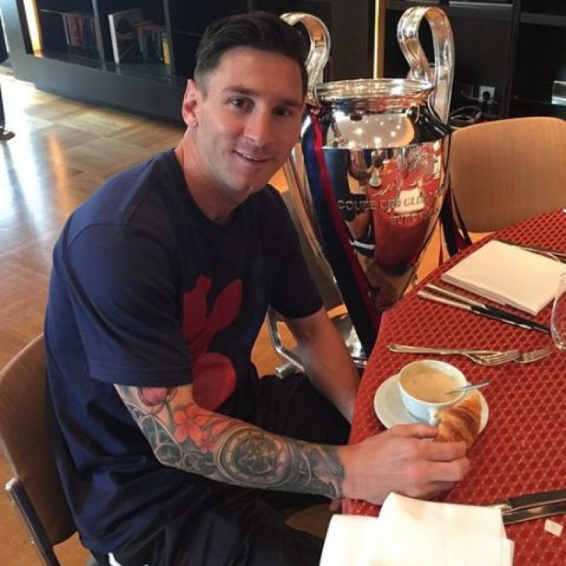 3. Lionel Messi (Argentina/Barcelona) Foto:Vía instagram.com/leomessi