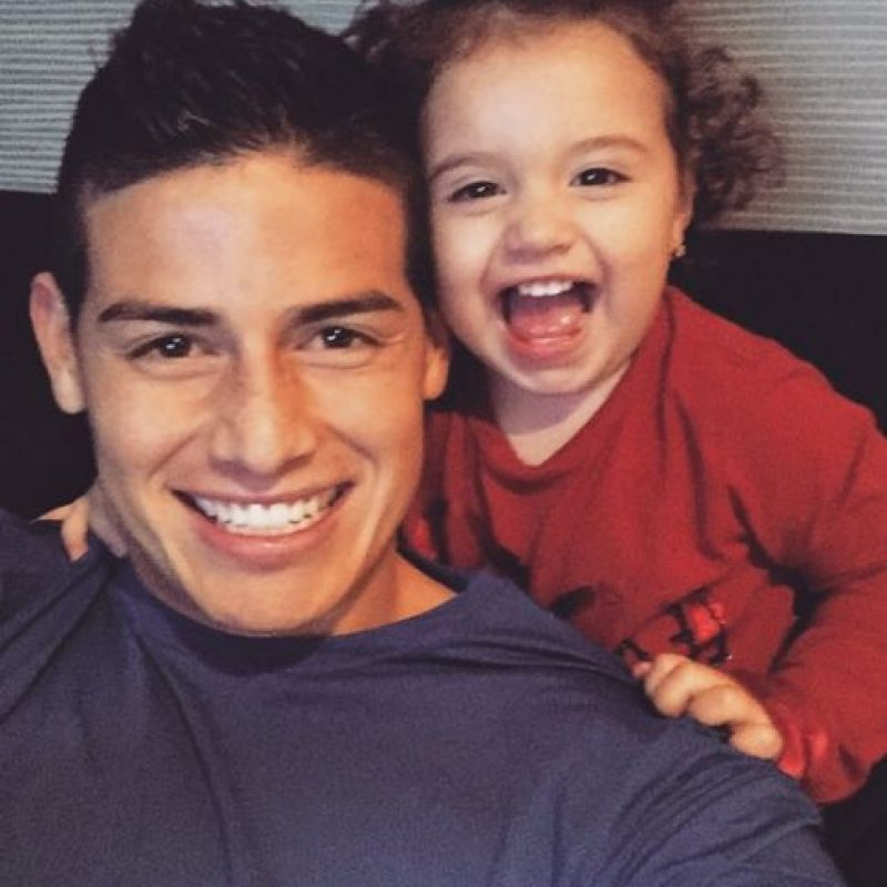 4. James Rodríguez (Real Madrid/Colombia) Foto:Vía instagram.com/jamesrodriguez10
