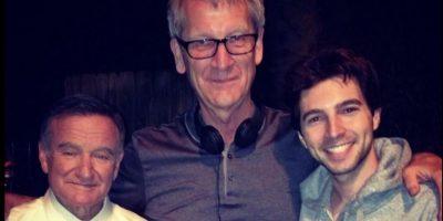 El actor trabajó con Robin Williams Foto:Vía twitter.com/robaguire