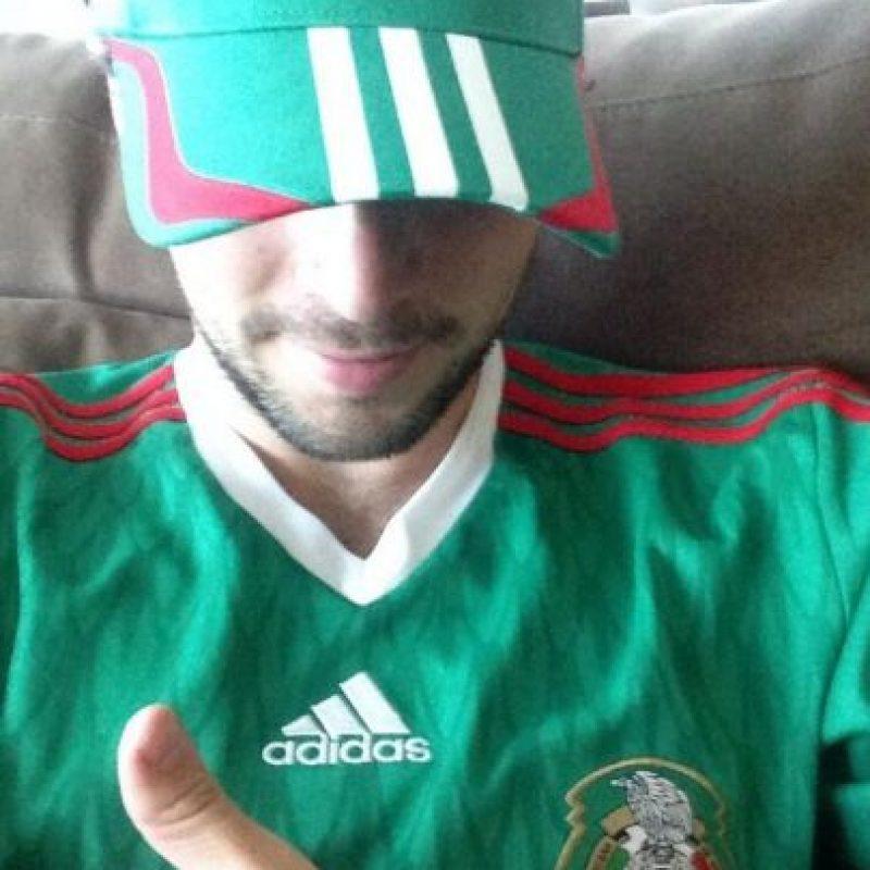 Nació en Los Ángeles, pero está orgullosos de sus raíces mexicanas Foto:Vía twitter.com/robaguire