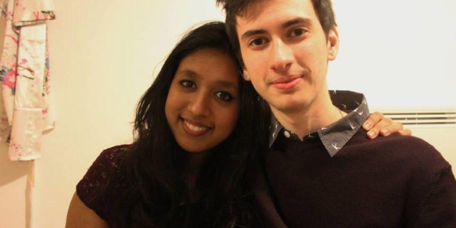 Aquí junto con su novia Shaaba. Foto:Vía Youtube / Jammidodger