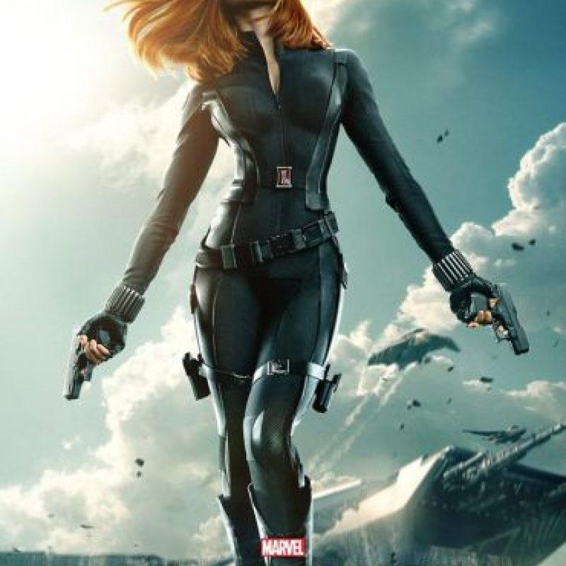 "Scarlett Johansson le da vida a la espía ""Natasha Romanoff"" Foto:vía facebook.com/Avengers"