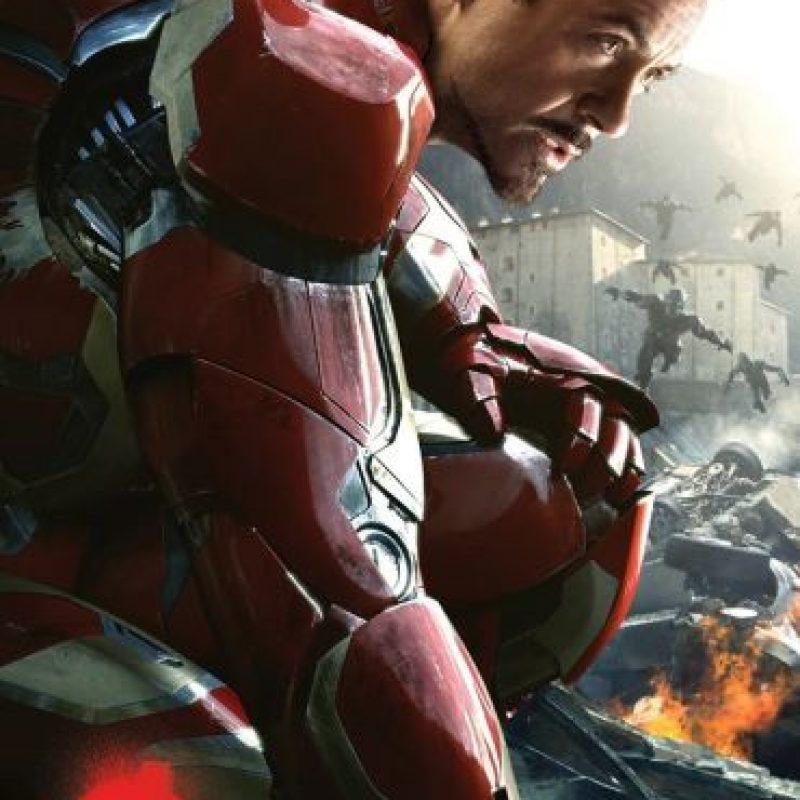 Así lo conocimos en las famosas películas de Marvel Foto:vía facebook.com/ironman