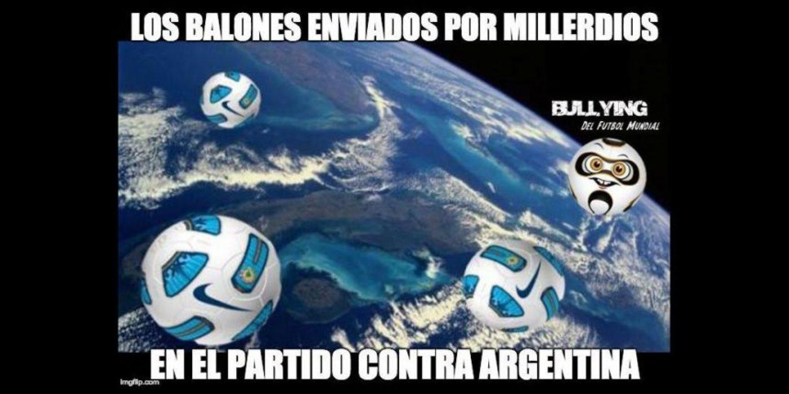 Los hombres de Gustavo Quintero se impusieron por marcador 2-0. Foto:Vía facebook.com/Bullying-del-Fútbol-Mundial-785576564852677