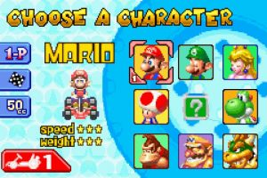 """Mario Kart: Super Circuit"" para Game Boy Advance (2001) Foto: Nintendo"