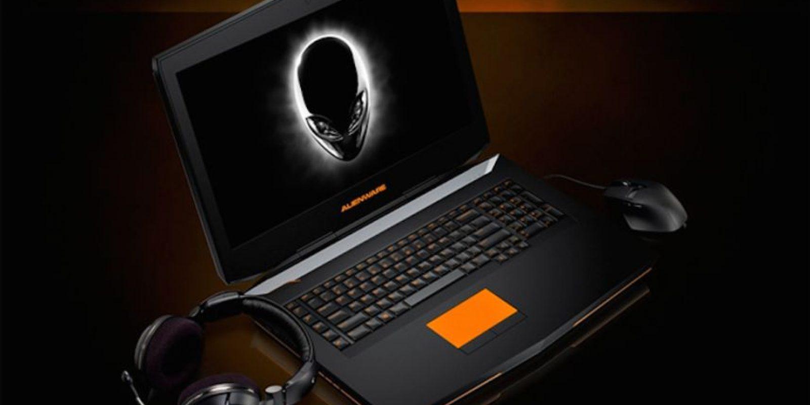 """Alienware 18 de Dell es una portátil dedicada a los """"gamers"""" Foto:Dell"""