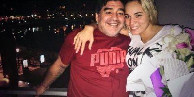 ¿Nueva ruptura? En Argentina aseguran que Maradona corrió a su novia de Dubai