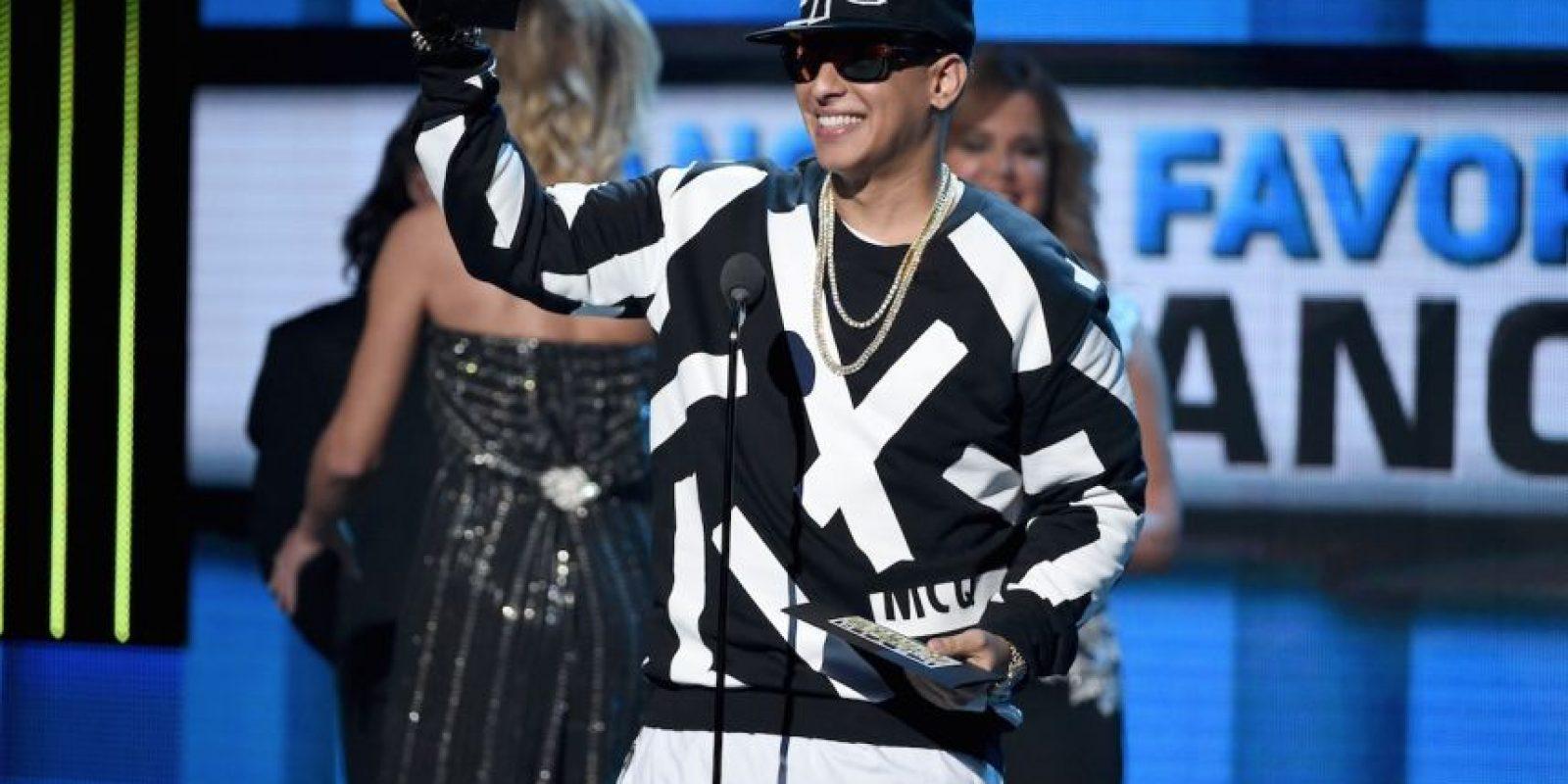 """Artista Masculino Favorito Urbano"" ganó Daddy Yankee Foto:Getty Images"