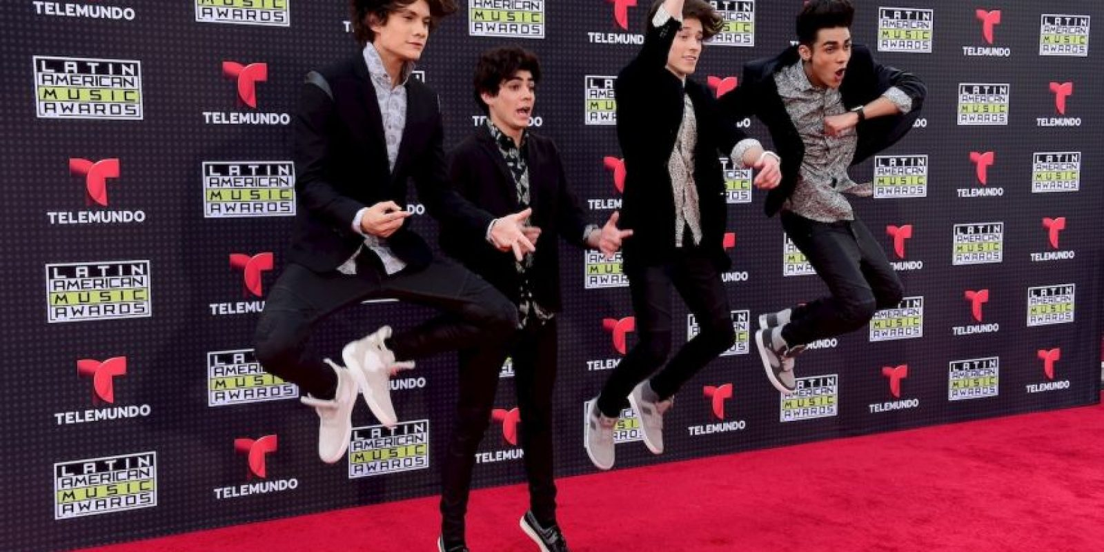 Los integrantes de la boyband CD9 causaron furor entre el público adolescente. Foto: Getty Images