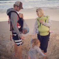 Pero fuera de las cámaras es un amoroso padre. Foto:vía instagram.com/elsapataky