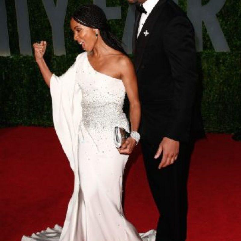 La pareja tuvo un encuentro en su limusina, mientras viajaban a la entrega de los premios Oscar de 2009 Foto:Getty Images