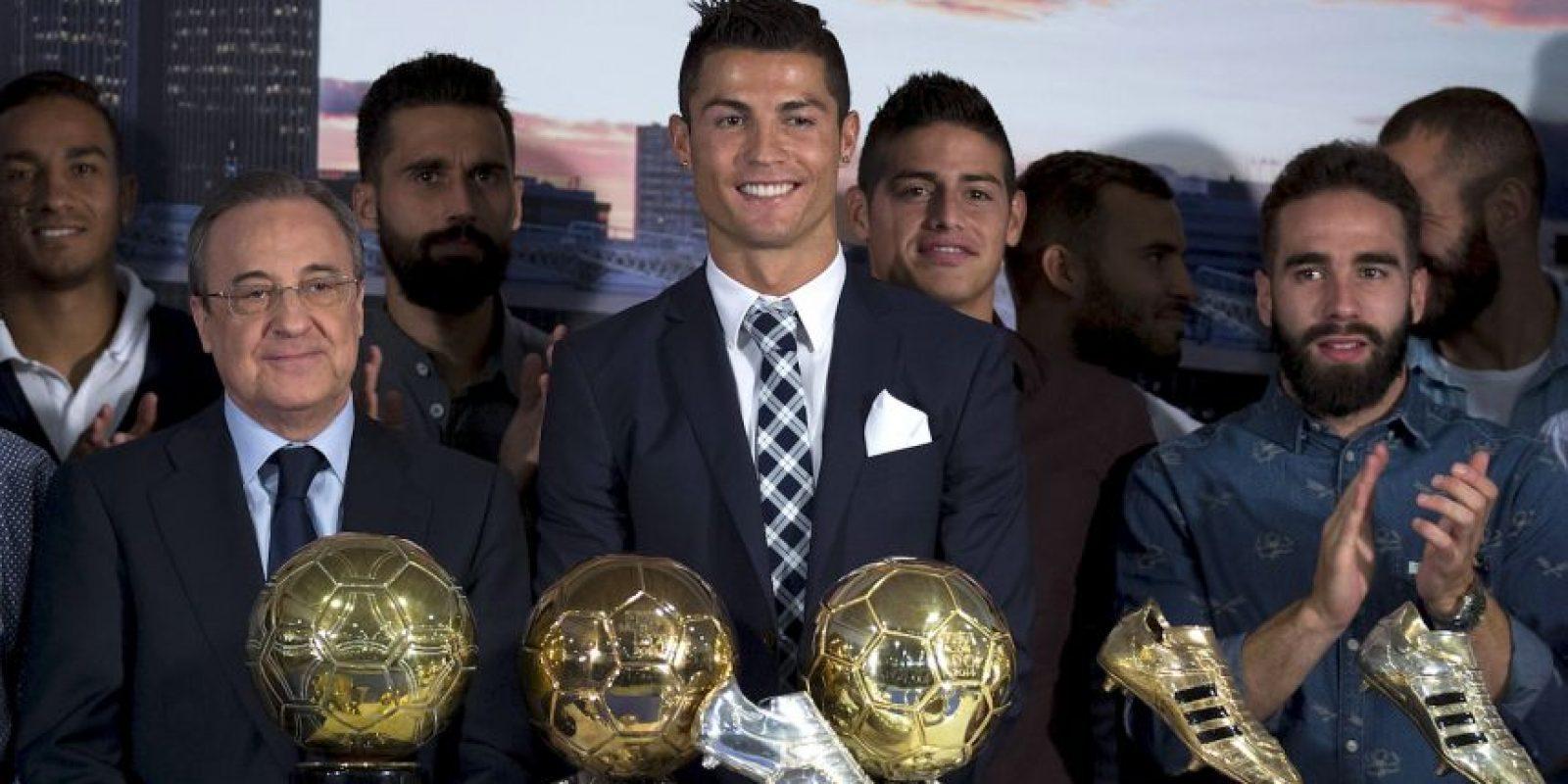 Cristiano Ronaldo es el máximo goleador en la historia del Real Madrid. Foto:Getty Images